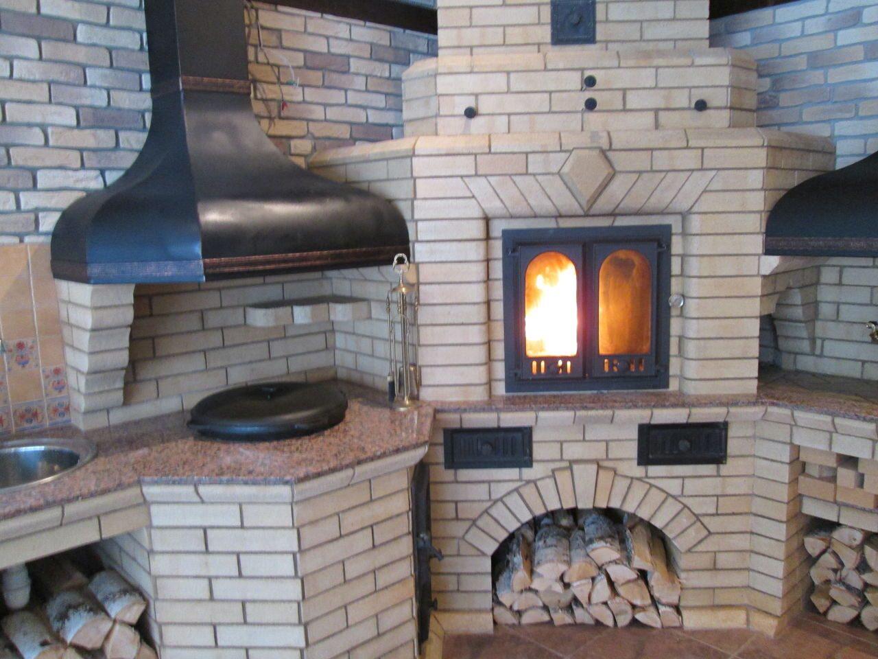 Универсальная печь барбекю казан небольшие электрические камины с деревянным порталом